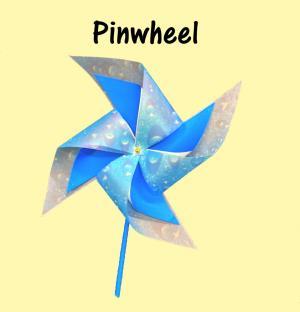 Excelsior Library School Holiday Program - Pinwheel craft