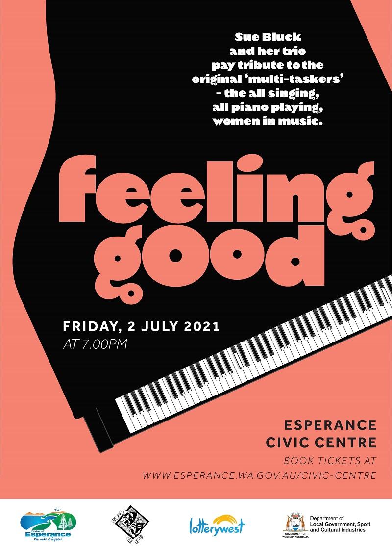Esperance Feeling Good A3 Poster reduced