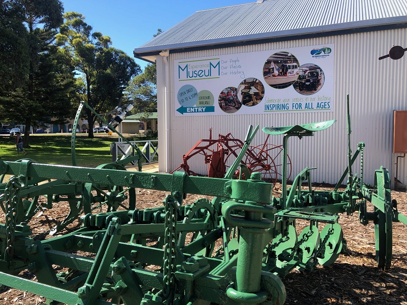 Esperance Museum - Open every day of the School Holidays