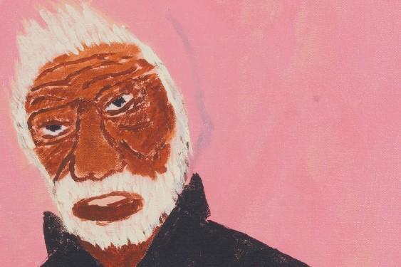 scaled Delroy Gardiner My Jamu Grandfather 2017 Spifex Hill Artists
