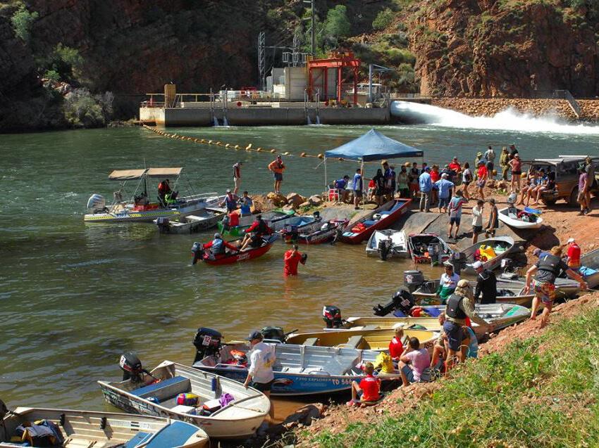 Kununurra Water Ski Dam to Dam