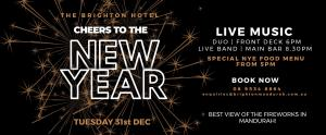 Cheers to the New Year - The Brighton Hotel