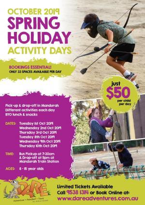 Dare Adventures - School Holiday Activity Days