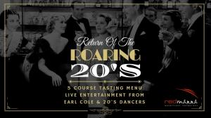Return of the Roaring 20's - New Years Eve 2019 - Redmanna Waterfront Restaurant