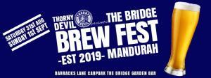The Bridge Brewfest- featuring Thorny Devil