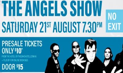 No Exit - The Angels Show @ The Oaks Hotel