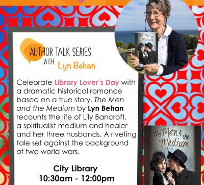 Author Talk with Lyn Behan@The City Library