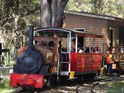 All Aboard the KidsFest Express @  The Illawarra Light Railway Museum