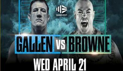 Boxing: Gallen v Browne @ Shellys