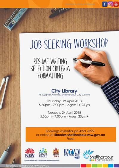Job Seeking Workshop @ The City Library