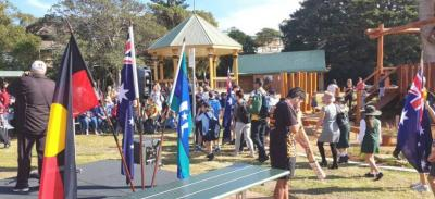 Reconciliation School Flag Walk