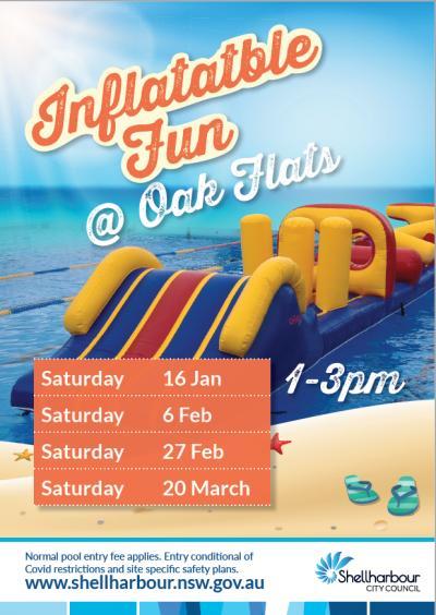 Inflatable Fun @ Oak Flats Pool