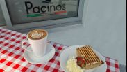 $8 Cake & Coffee Special Deal @ Pacinos Cafe*