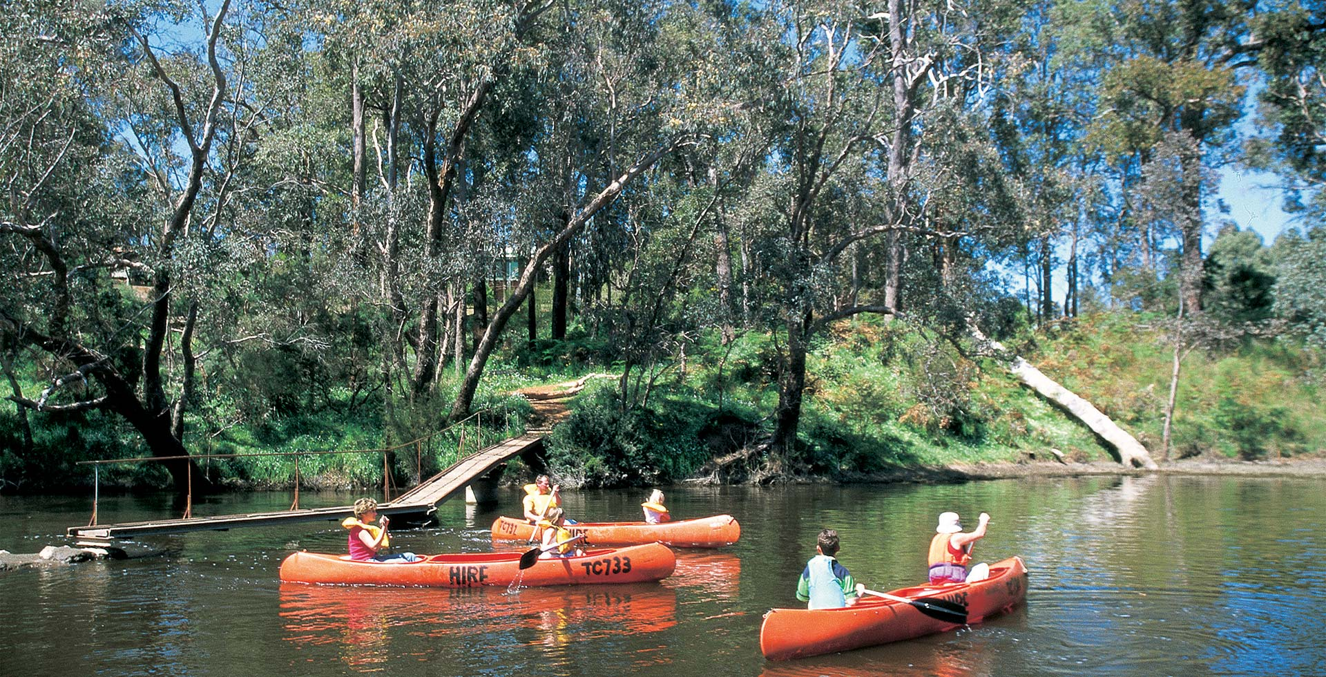 Bring your family to canoe down Blackwood River, Augusta