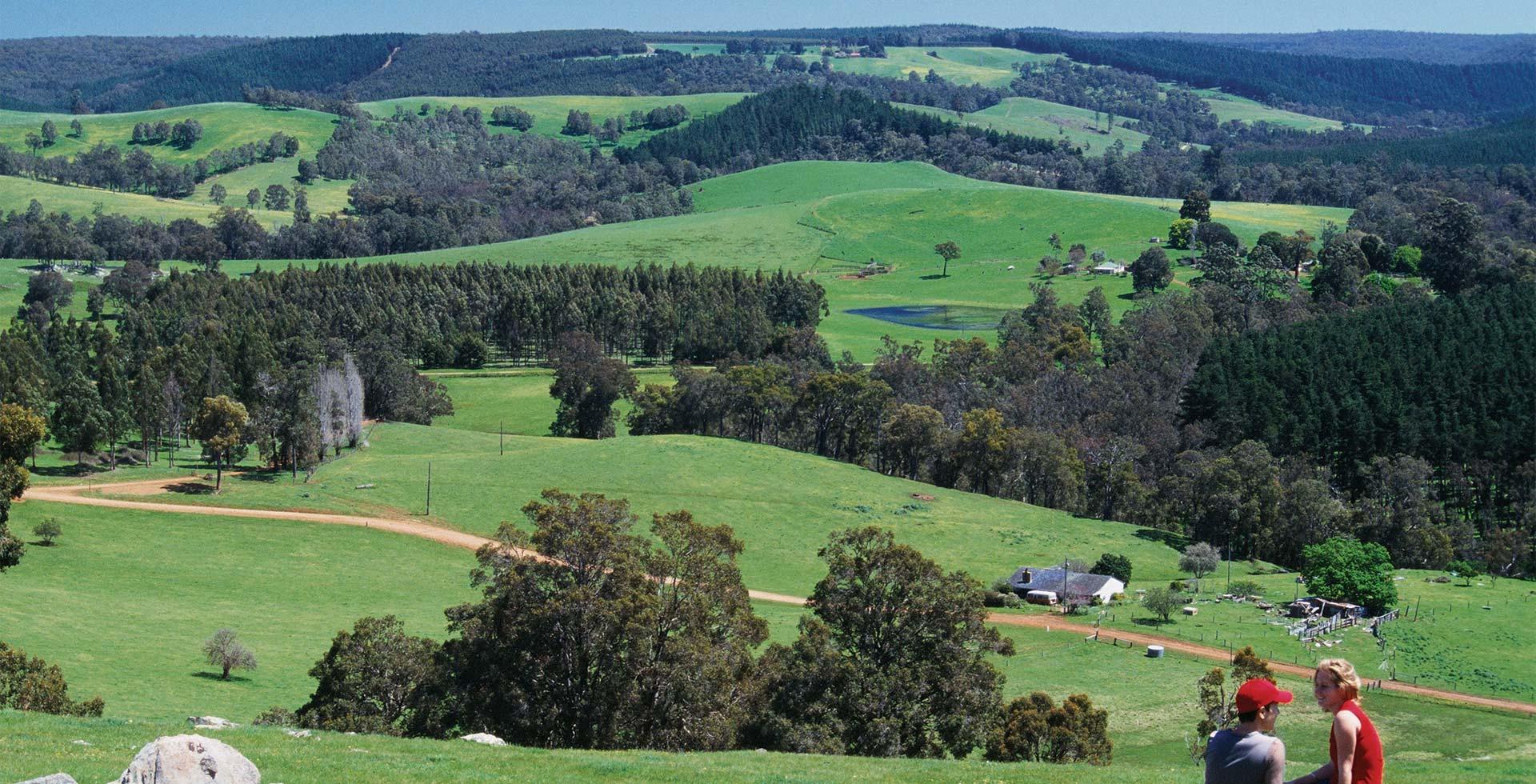 Beautiful Countryside views throughout Bridgetown