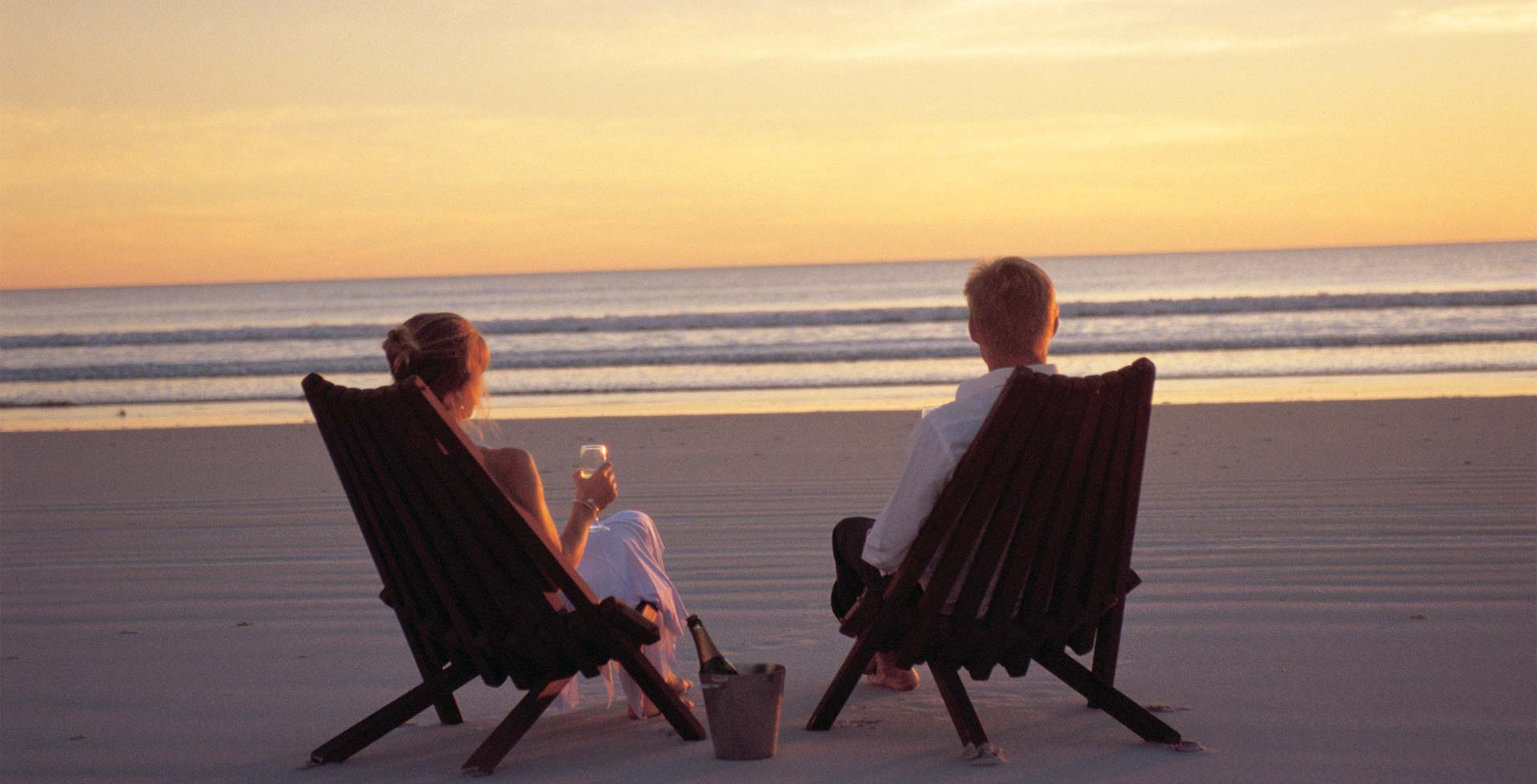 Sunset at Cable Beach in Broome is the perfect getaway