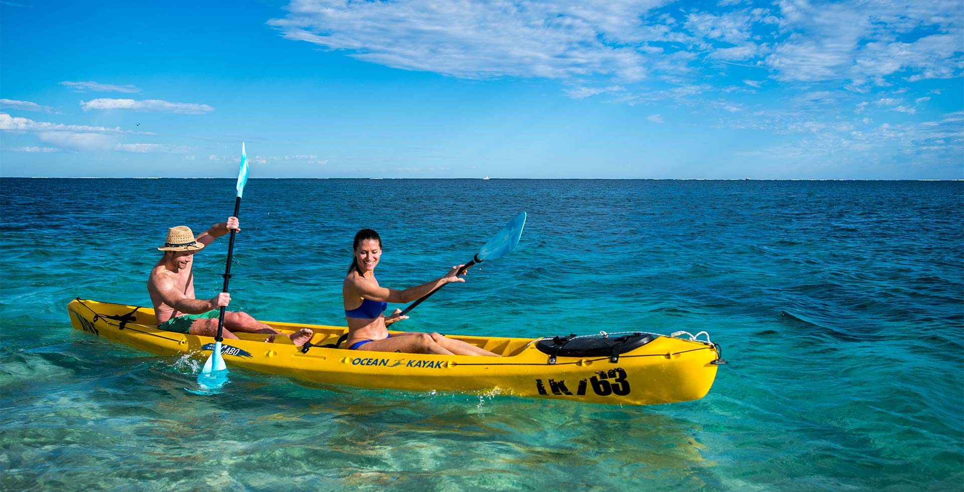 Spend your days on the water in Coral Bay