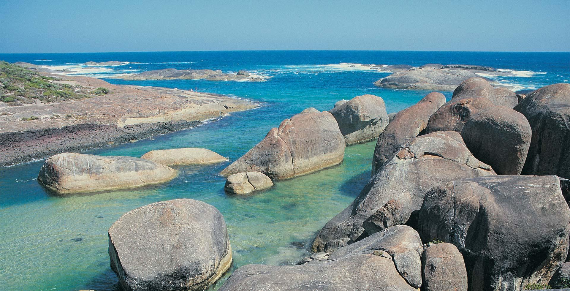 Enjoy the incredible Elephant Rocks at William Bay, Denmark