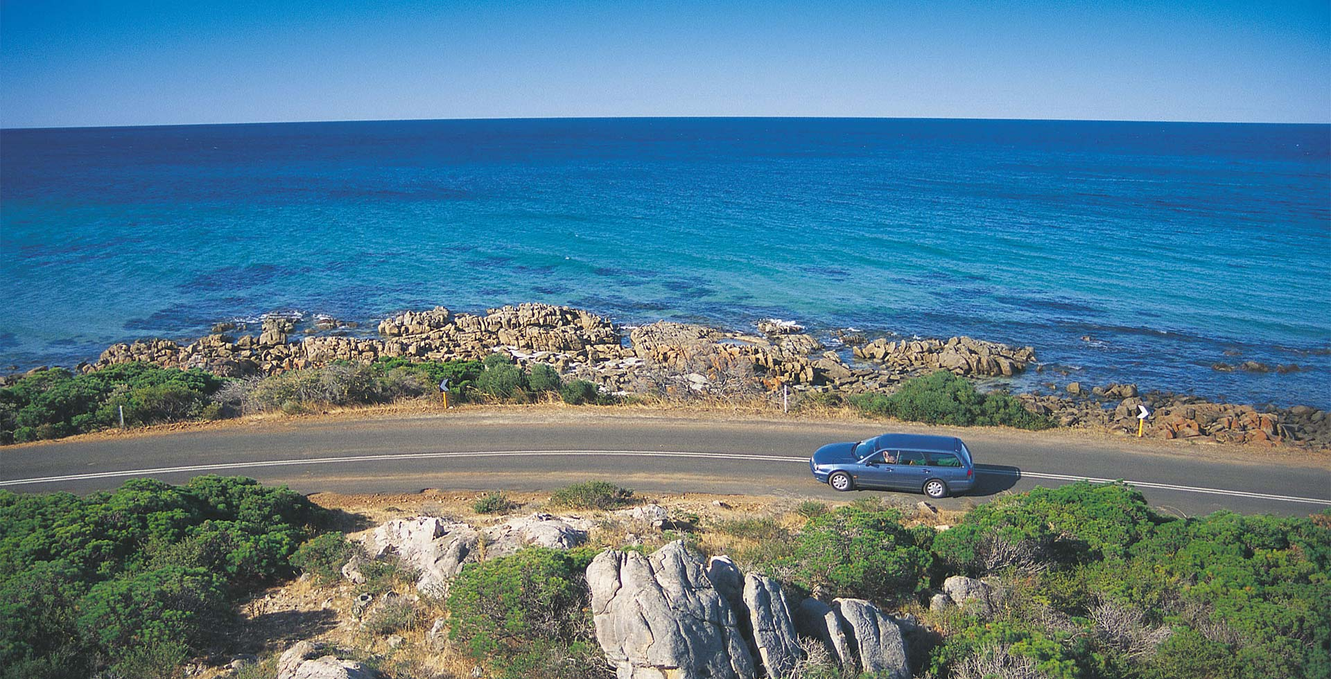 Take a scenic drive along Meelup Beach Road throughout Dunsborough