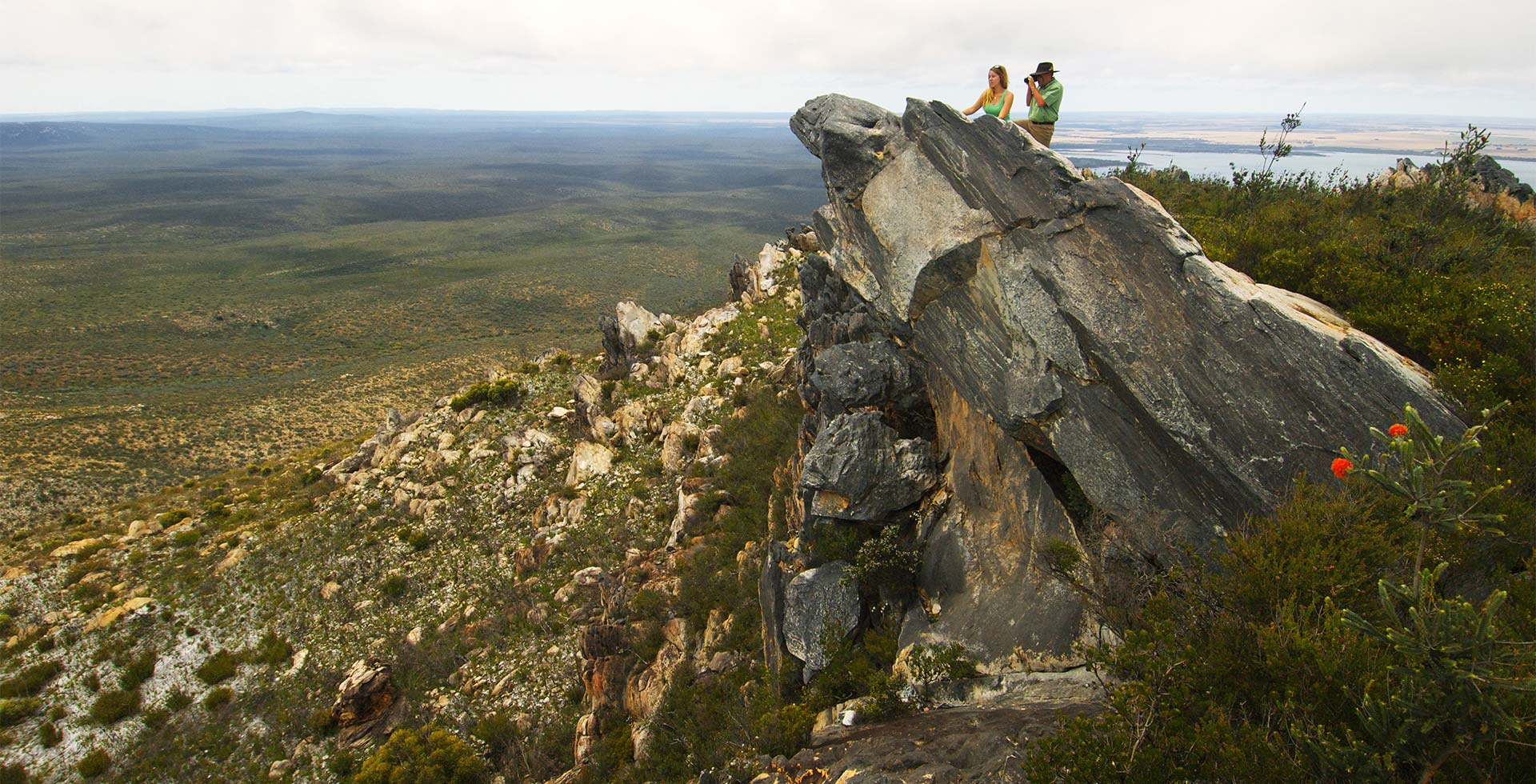 Hike through the rocky East Mount Barren of Esperance