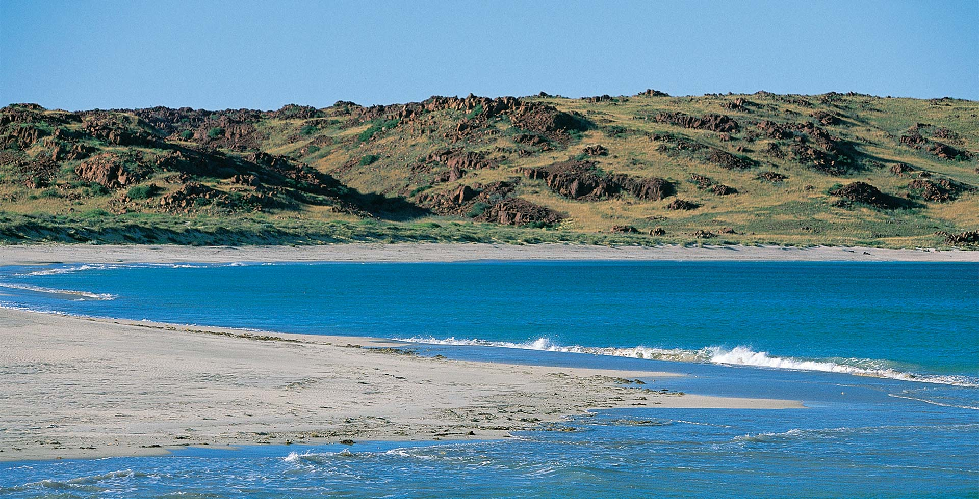 Travel to the stunning Angel Island here in Karratha