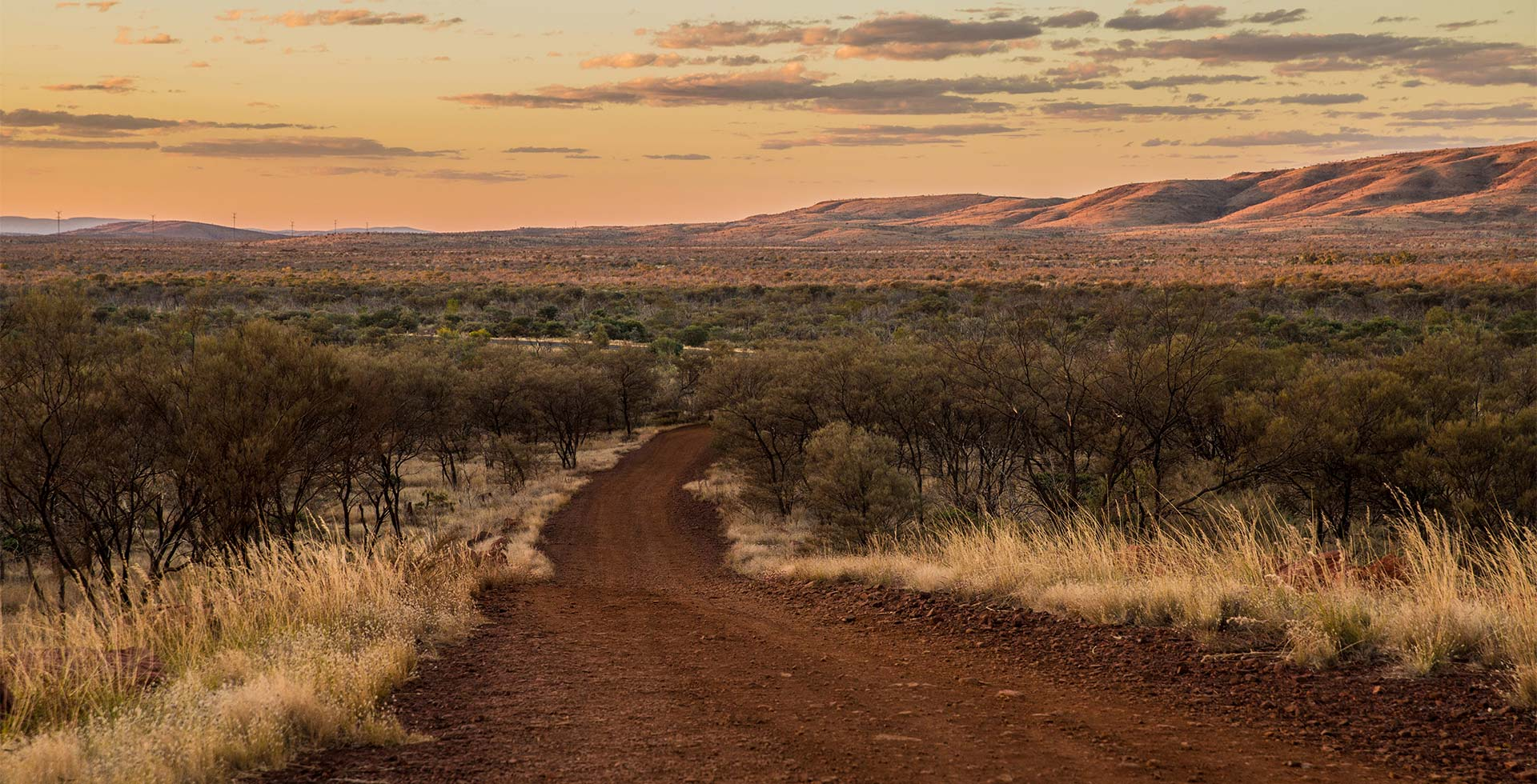 Induldge in endless views of the WA outback in Newman