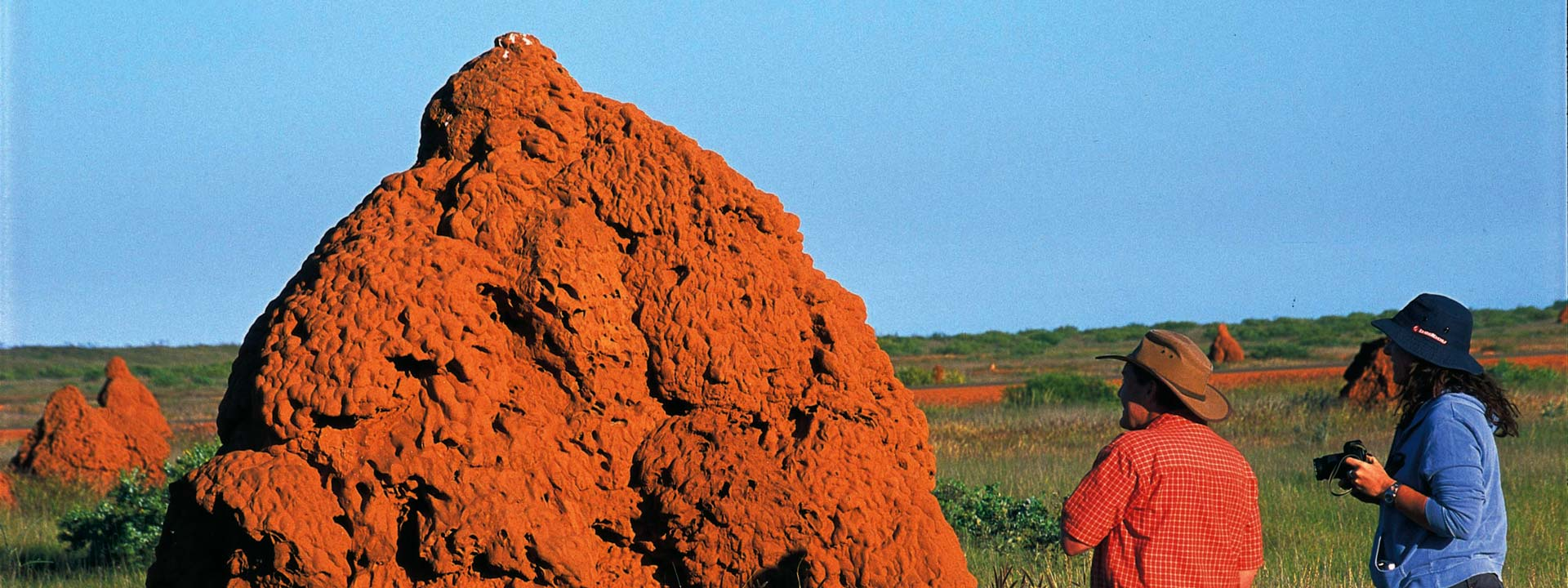 Onslow is known for housing the numerous large termite mounds