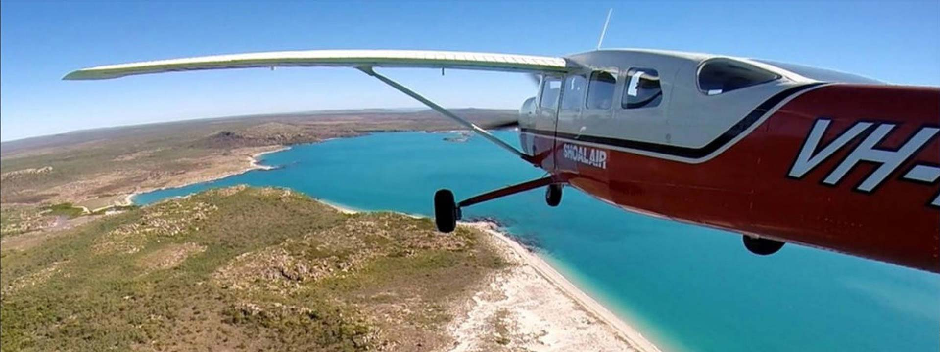 Experience a scenic air tour with Kingfisher Tours