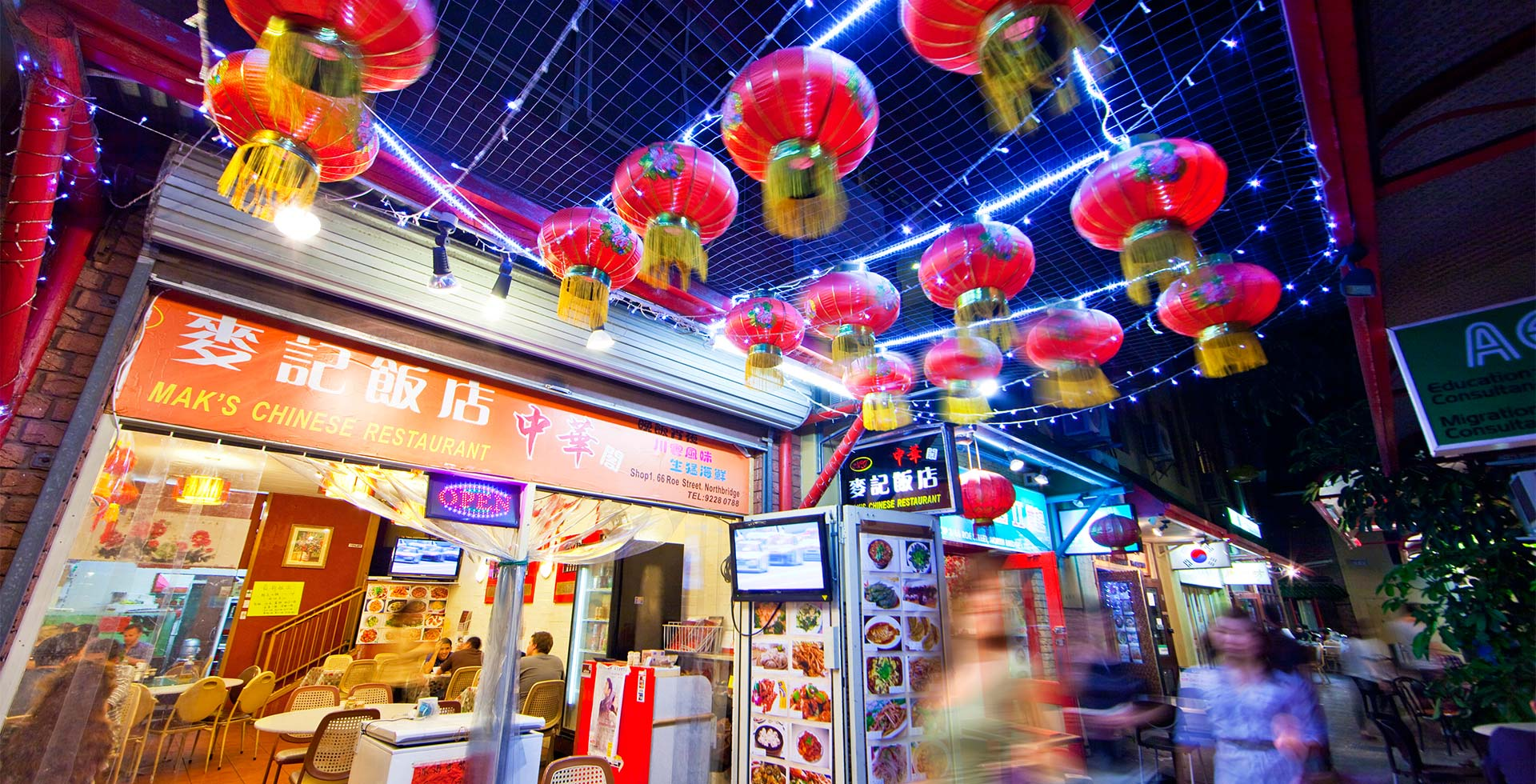 Immerse yourself in the Chinese community of Perth City