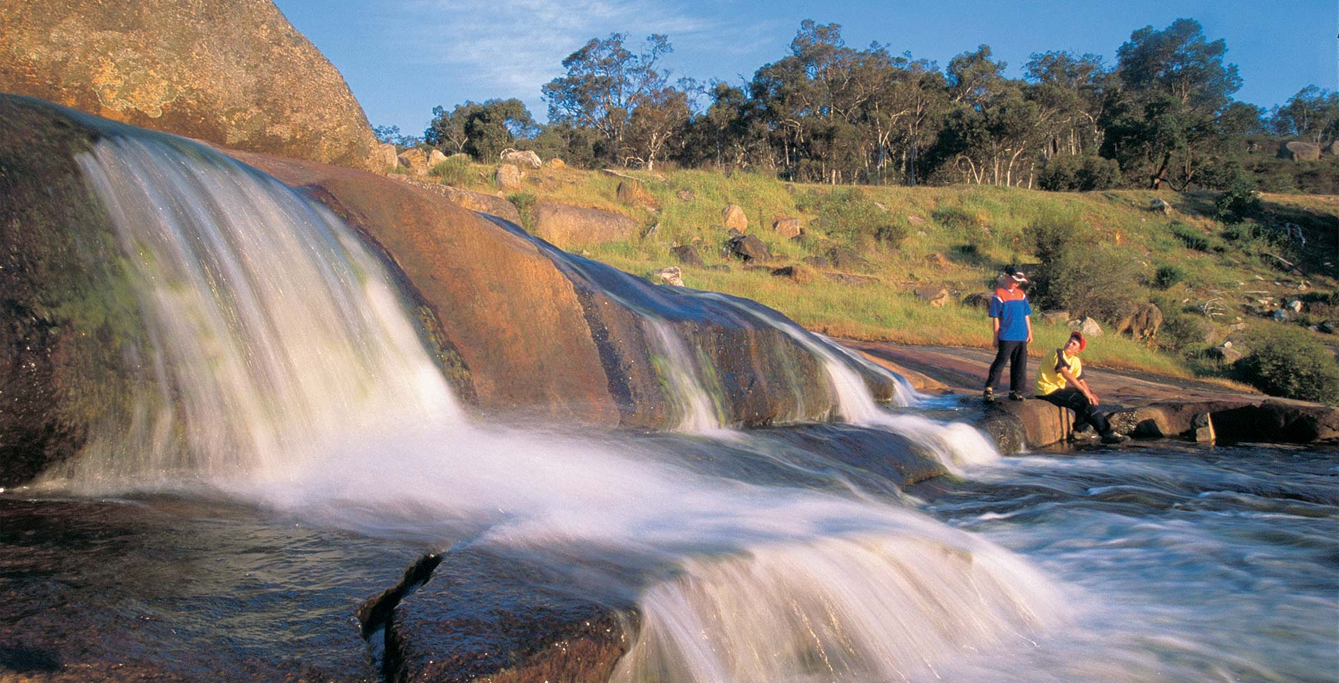 Blend with nature by the Hovea Falls in the Perth Hills