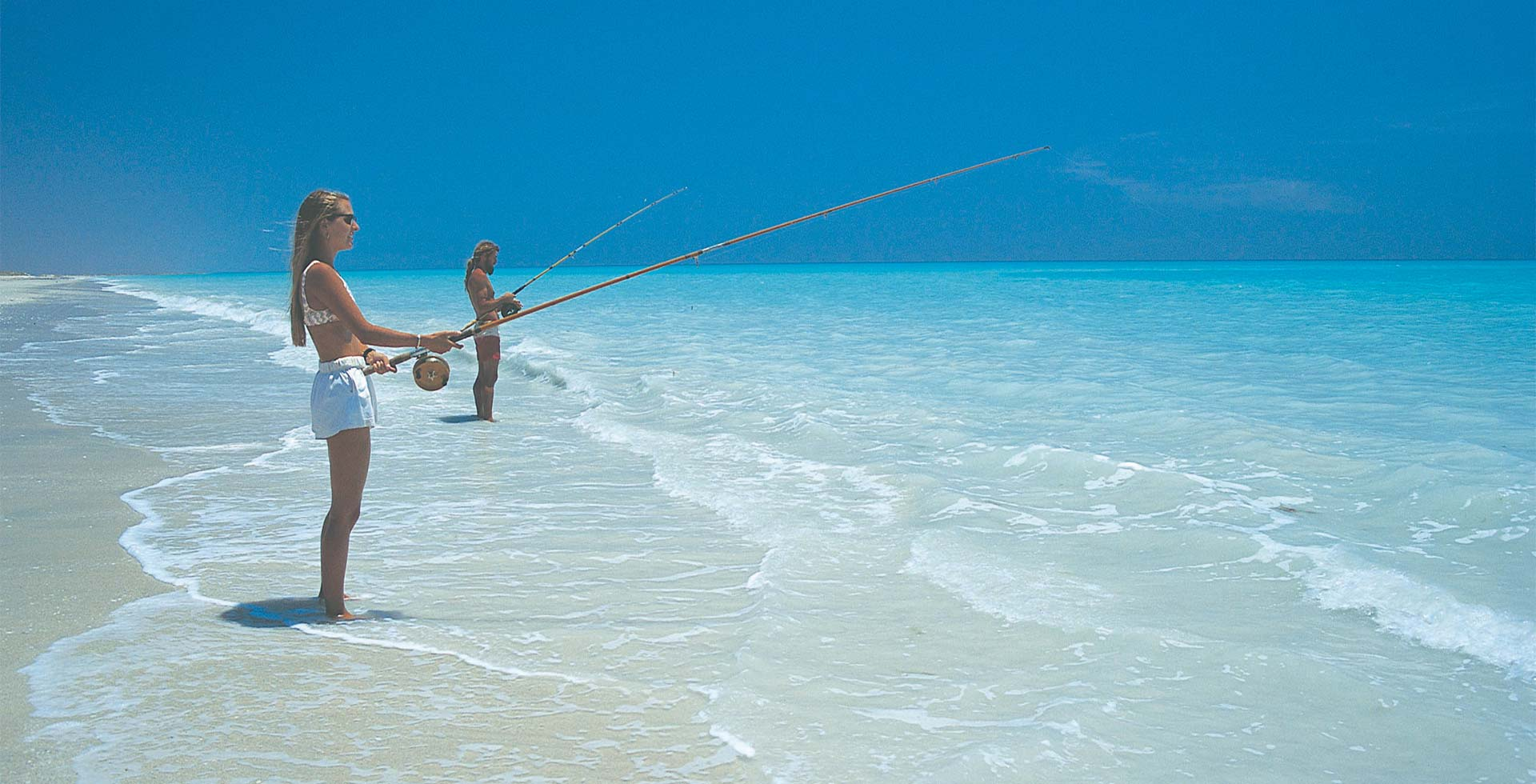 Spend the day fishing at 80 Mile beach near Port Hedland