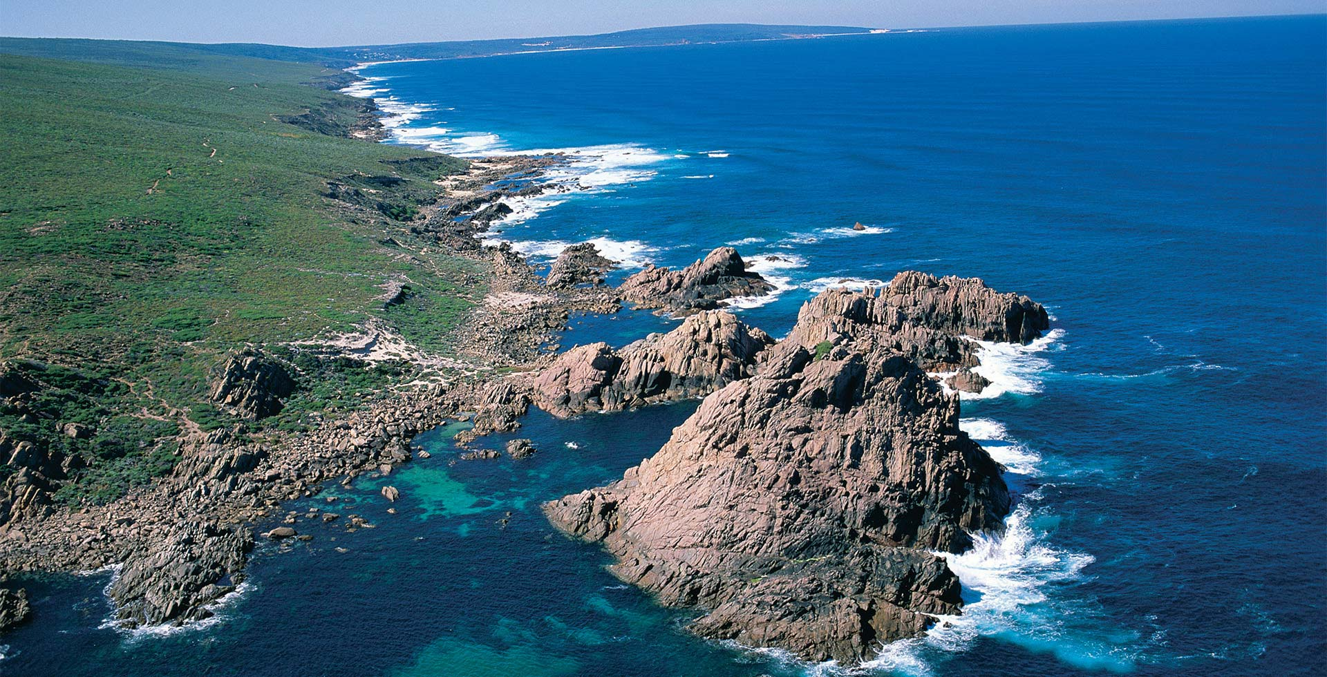See the stunning coast around Cape Naturalise in Yallingup