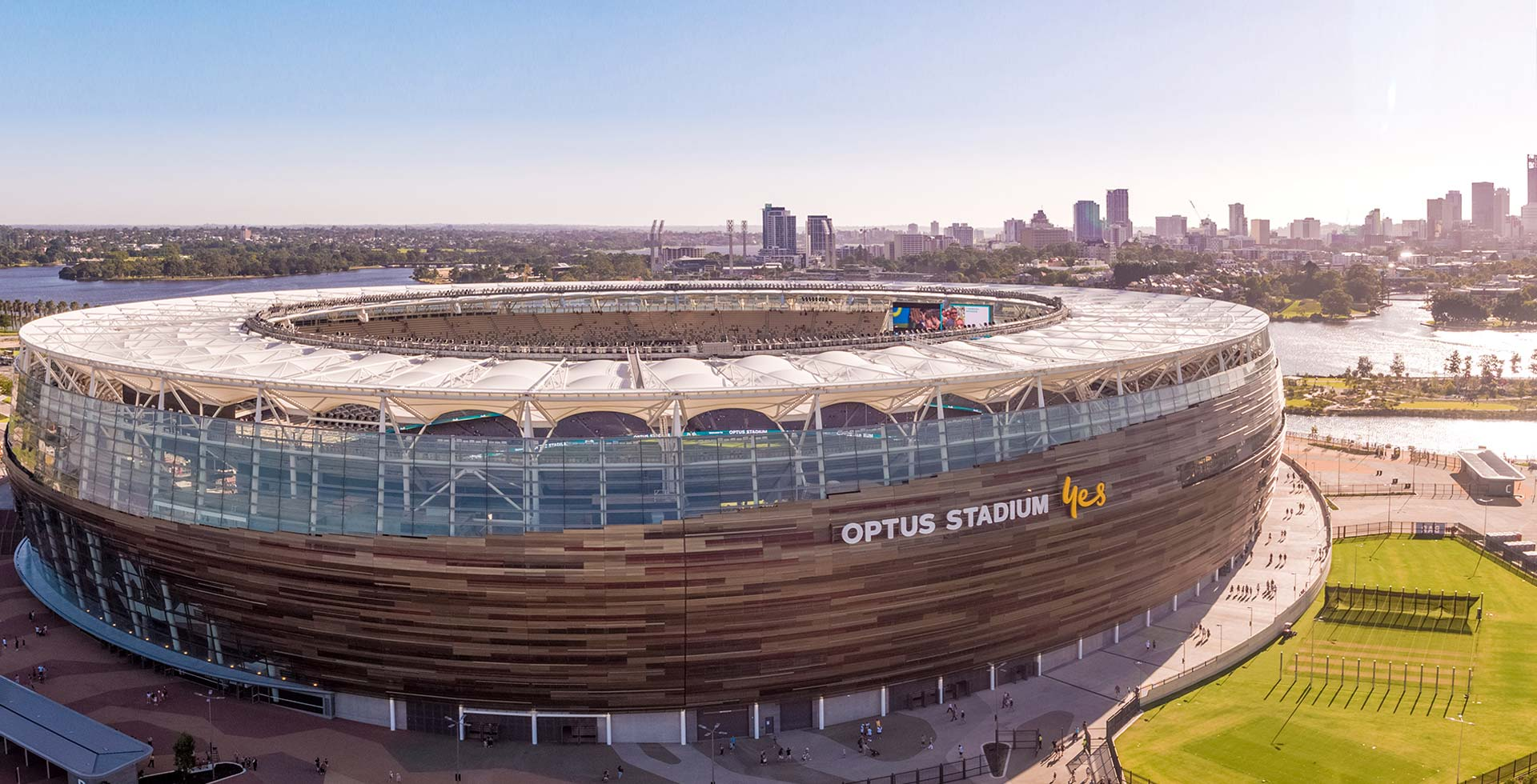 Experience an exclusive behind the scenes tour of Optus Stadium