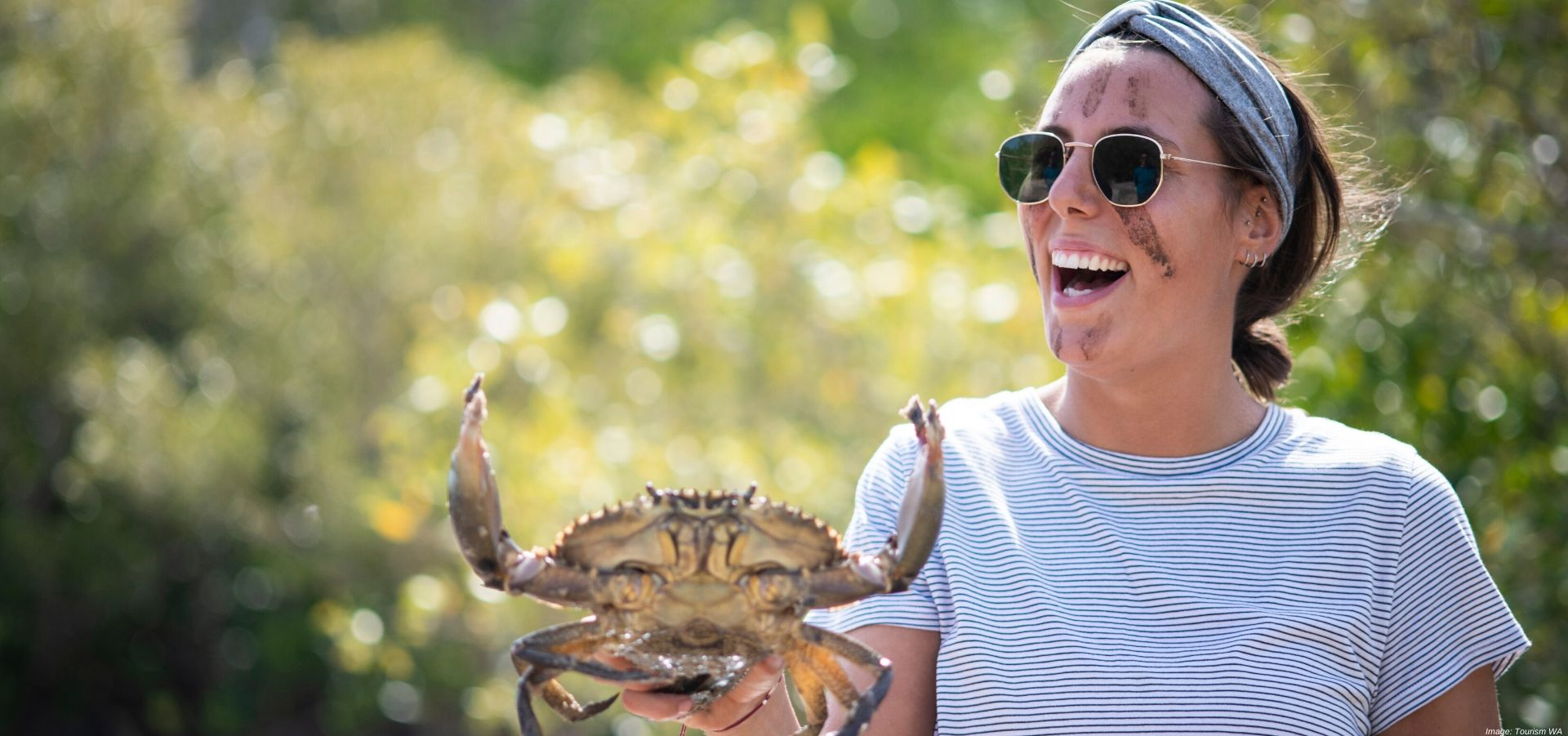 Catching Crabs in the Kimberleys on an Aboriginal Experience