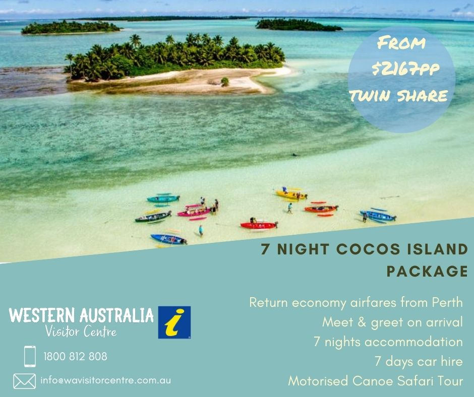 7 DAY Cocos Islands Package